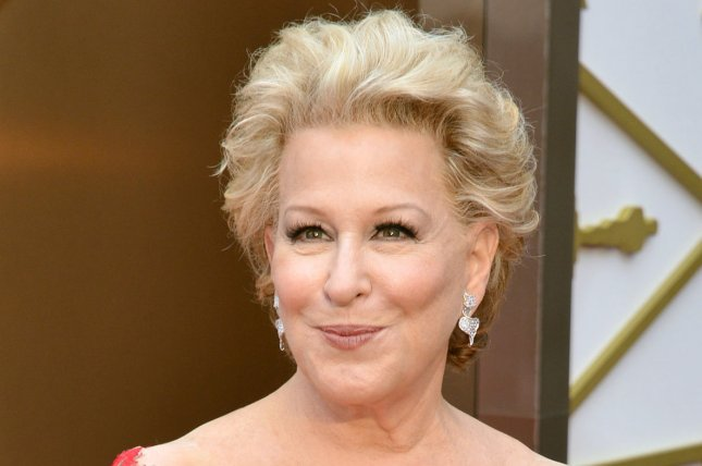Bette Midler arrives on the red carpet at the 86th Academy Awards in Los Angeles on March 2, 2014. Her Broadway revival of Hello Dolly was a big winner at Sunday's Drama Desk Awards. File Photo by Kevin Dietsch/UPI