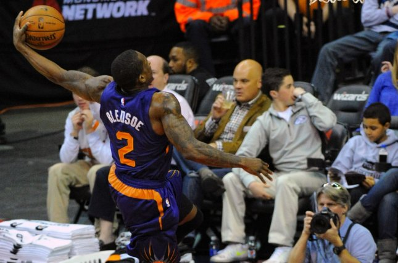 Phoenix Suns guard Eric Bledsoe (2). UPI/Mark Goldman