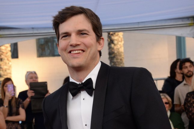 Actor Ashton Kutcher will be a presenter at the 2017 CMT Music Awards at Nashville's Music City Center on Wednesday. File Photo by Jim Ruymen/UPI