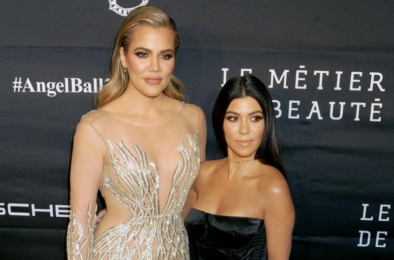 Khloe Kardashian (L), pictured with Kourtney Kardashian, dedicated a sweet post to Kourtney on her 39th birthday. File Photo by Dennis Van Tine/UPI