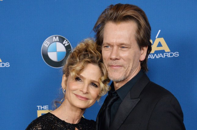 Kevin Bacon (R) and Kyra Sedgwick performed a duet together on their 30th wedding anniversary. File Photo by Jim Ruymen/UPI
