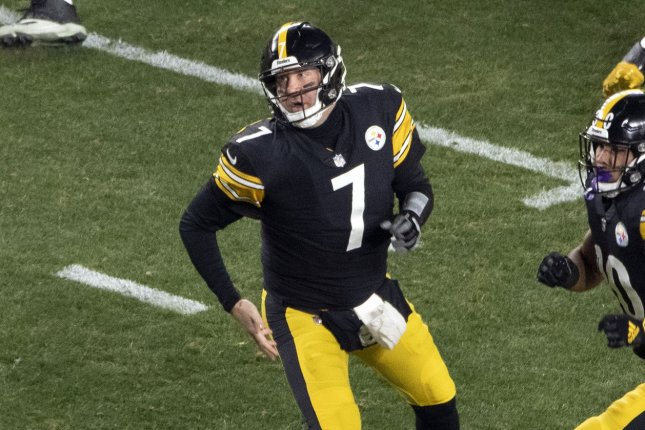 Pittsburgh Steelers quarterback Ben Roethlisberger said he will have discussions with his family this off-season to decide if he wants to retire before the 2021 campaign. File Photo by Archie Carpenter/UPI