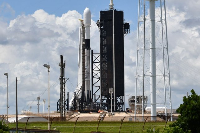 SpaceX is prepared to launch its 20th batch of Starlink satellites from Kennedy Space Center in Florida on Sunday, like the launch shown here in August. File Photo by Joe Marino/UPI