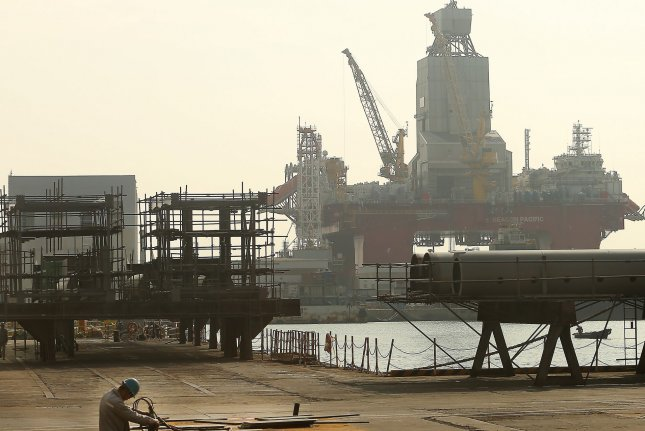 A North Korean vessel underwent a safety inspection at the Chinese port of Yantai, according to data from the Port State Control Committee of the Asia-Pacific. File Photo by Stephen Shaver/UPI