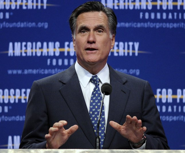Ex-Massachusetts Gov. Mitt Romney is seen as the most electable among Republican presidential hopefuls but hasn't pulled away from the pack, the latest Washington Post-ABC poll indicated. UPI/Roger L. Wollenberg