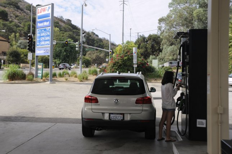 U.S. retail gasoline prices buck trend for season, analysis finds. UPI/ Phil McCarten