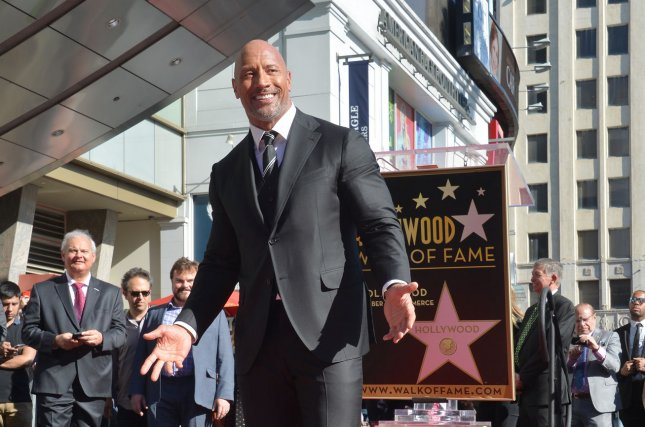 Dwayne Johnson's family movie Jumanji: Welcome to the Jungle is No. 1 at the North American box office this weekend. File Photo by Jim Ruymen/UPI