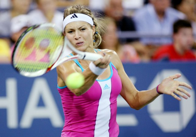 Maria Kirilenko, shown in a 2011 file photo, picked up a first-round win Tuesday at the KDB Korea Open tennis tournament in Seoul. UPI/Monika Graff
