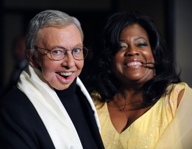 Film critic Roger Ebert and his wife Judge Chaz Hammelsmith arrive at the 61st annual Directors Guild of America Awards in Los Angeles on January 31, 2009. (UPI Photo/Jim Ruymen)
