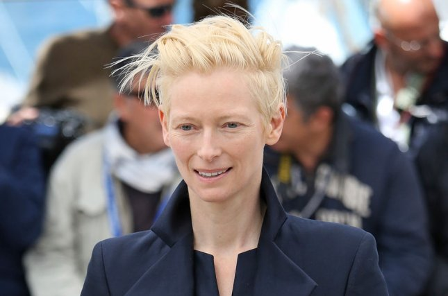 Tilda Swinton at a Cannes International Film Festival photocall for Only Lovers Left Alive on May 25, 2013. The actress will play the Ancient One in Doctor Strange. File Photo by David Silpa/UPI