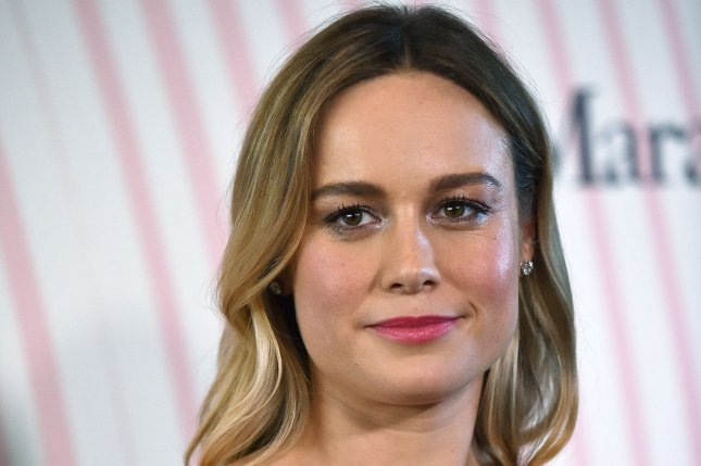 Brie Larson attends the Women in Film Crystal + Lucy Awards on Wednesday. Photo by Christine Chew/UPI