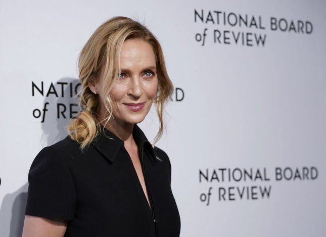Uma Thurman has landed the lead role in the Apple TV+ thriller Suspicion. File Photo by John Angelillo/UPI