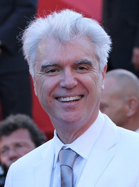 David Byrne arrives on the red carpet before the screening of the film This Must Be The Place during the 64th annual Cannes International Film Festival in Cannes, France on May 20, 2011. UPI/David Silpa