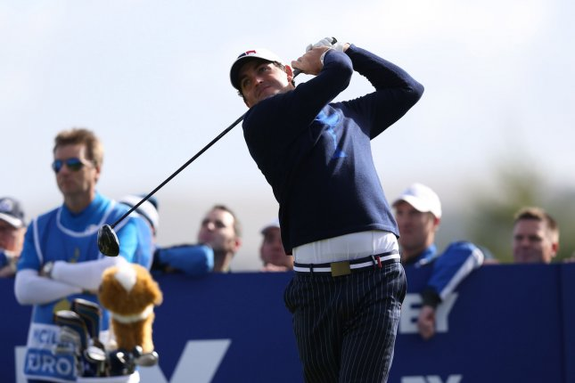 Keegan Bradley has decided to make a caddie change for the first time in his career. File photo Hugo Philpott/UPI