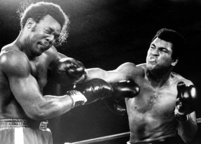 Boxing great Muhammad Ali died at the age of 74 in Phoenix, Arizona on Saturday following a 32-year long battle with Parkinson's disease. His death garnered reactions from prominent members of the boxing world and beyond including George Foreman, who referred to Ali as royalty. File Photo by Mike Feldman/UPI