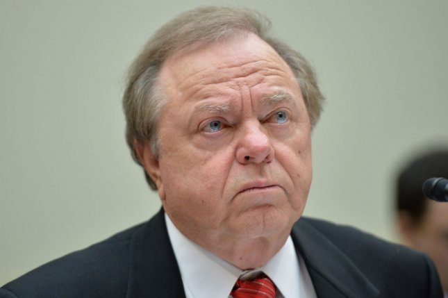 Continental Resources CEO Harold Hamm said the sale of oil from the Bakken shale basin in North Dakota to China represents the new normal. File photo by Kevin Dietsch/UPI.