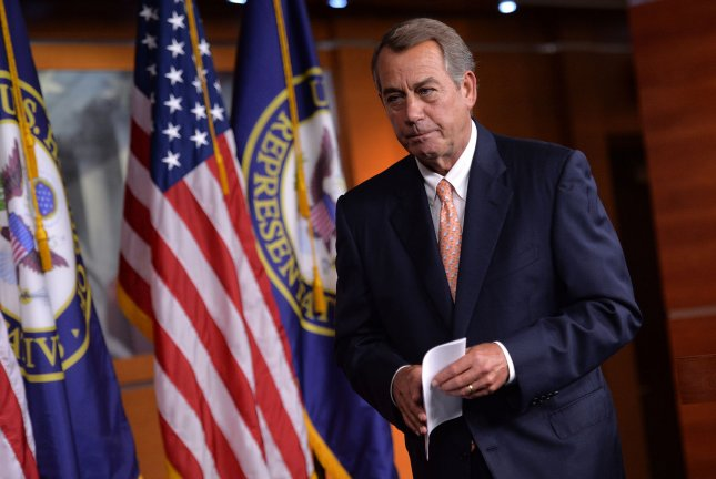 Former House Speaker John Boehner said Wednesday he's joined the board of a top U.S. marijuana company to facilitate the substance's legal medical use. File Photo by Kevin Dietsch/UPI