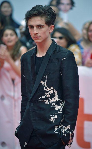 Timothee Chalamet arrives for the world premiere of Beautiful Boy at the Toronto International Film Festival in Canada on September 7. Photo by Christine Chew/UPI