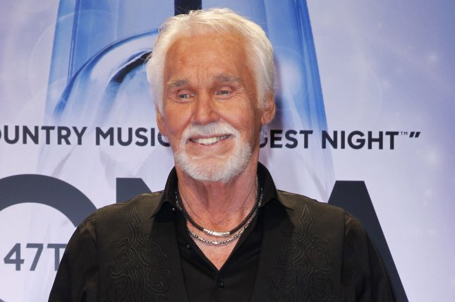 Kenny Rogers died Friday night at age 81. File Photo by Terry Wyatt/UPI