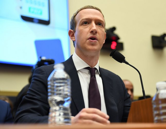 In a letter address to Facebook CEO Mark Zuckerberg, 20 attorneys general have called for the social media platform to institute reforms to prevent the spread of hate and misinformation. Photo by Pat Benic/UPI