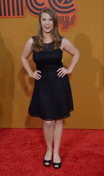Bindi Irwin gave an update on her pregnancy over Thanksgiving. File Photo by Jim Ruymen/UPI