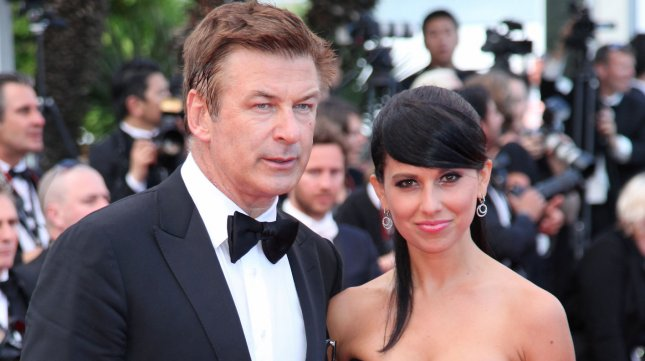 Alec Baldwin (L) and Hilaria Thomas at the Cannes International Film Festival in Cannes, France on May 26, 2012. UPI/David Silpa