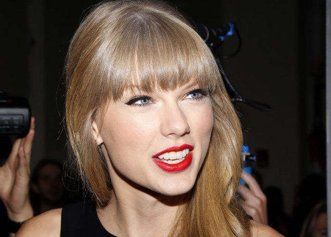 Taylor Swift arrives on the red carpet at Z100's Jingle Ball 2012, presented by Aeropostale, at Madison Square Garden on December 7, 2012 in New York City. UPI/John Angelillo