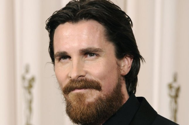 Best Supporting Actor Christian Bale poses with his Oscar at the 83rd annual Academy Awards in Hollywood on February 27, 2011. UPI/Phil McCarten