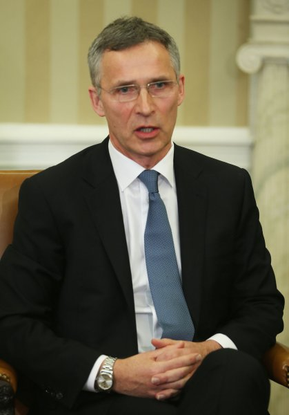 NATO Secretary General Jens Stoltenberg said the anti-missile defense system offers no physical threat to Russian missiles. File Pool photo by Mark Wilson/UPI