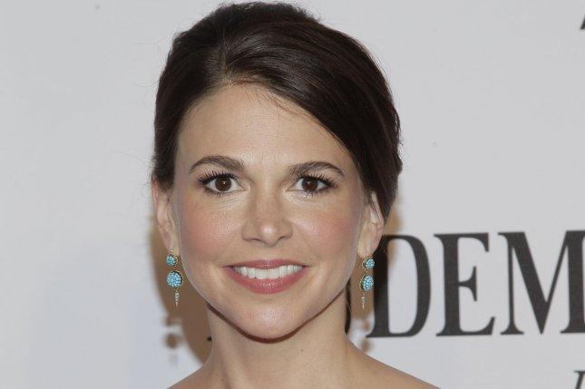 Younger star Sutton Foster arrives on the red carpet at the 68th Tony Awards in New York City on June 8, 2014. File Photo by John Angelillo/UPI
