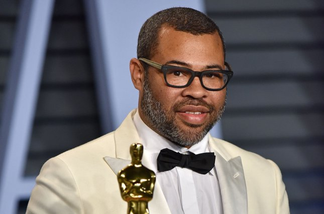 Jordan Peele enters another dimension in a teaser trailer for The Twilight Zone reboot. File Photo by Christine Chew/UPI