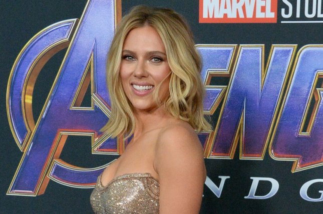 Avengers: Endgame star Scarlett Johansson. The film is breaking box office records after one day of release. File Photo by Jim Ruymen/UPI