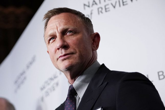 Daniel Craig plays James Bond in No Time to Die. File Photo by John Angelillo/UPI