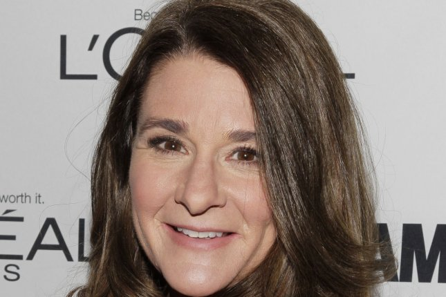 Melinda Gates arrives on the red carpet at the 2013 Glamour Women of the Year Awards in 2013. The philanthropist said she does not believe a presidential candidate's gender should factor into voters' decisions. File photo by John Angelillo/UPI