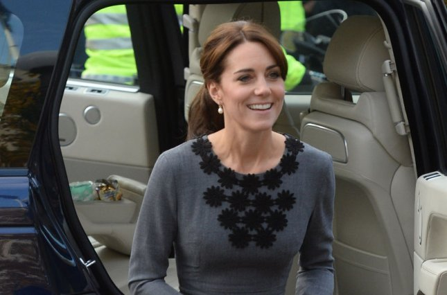 Kate Middleton, duchess of Cambridge, arrives at Islington Town Hall in London on October 27, 2015. She turns 36 on January 9. File Photo by Rune Hellestad/ UPI