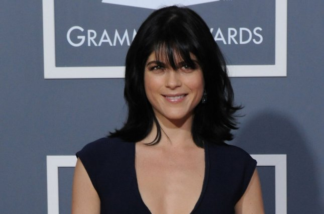 Selma Blair shared an emotional moment with her horse Mr. Nibbles amid her struggle with multiple sclerosis. File Photo by Jim Ruymen/UPI