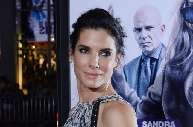Cast member Sandra Bullock attends the premiere of Our Brand Is Crisis in Los Angeles on October 26, 2015. The actress has donated $1 million to help those impacted by last week's Tropical Storm Harvey and flooding in Texas. File Photo by Jim Ruymen/UPI