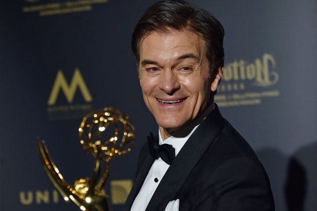 Mehmet Oz is to guest host Jeopardy! File Photo by Christine Chew/UPI