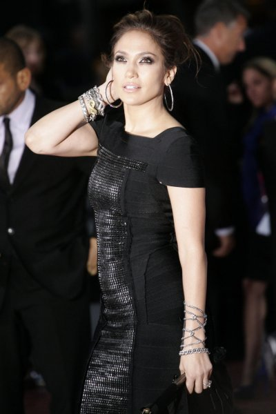 Jennifer Lopez attends the premiere of This Is It, at NokiaTheatre in Los Angles on October 27, 2009. The film is a compilation of interviews, rehearsals and backstage footage of Michael Jackson as he prepared for his series of sold-out shows in London. UPI/Jonathan Alcorn