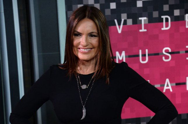 Actress Mariska Hargitay arrives on the red carpet for the 32nd annual MTV Video Music Awards at Microsoft Theater in Los Angeles on Aug. 30, 2015. Photo by Jim Ruymen/UPI