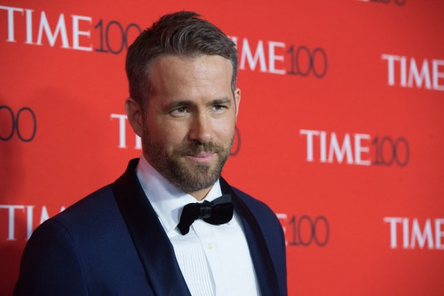 Ryan Reynolds attends the TIME 100 gala on April 26. The actor's personal trainer shared a side-by-side photo of the Deadpool 2 star Thursday. File Photo by Bryan R. Smith/UPI