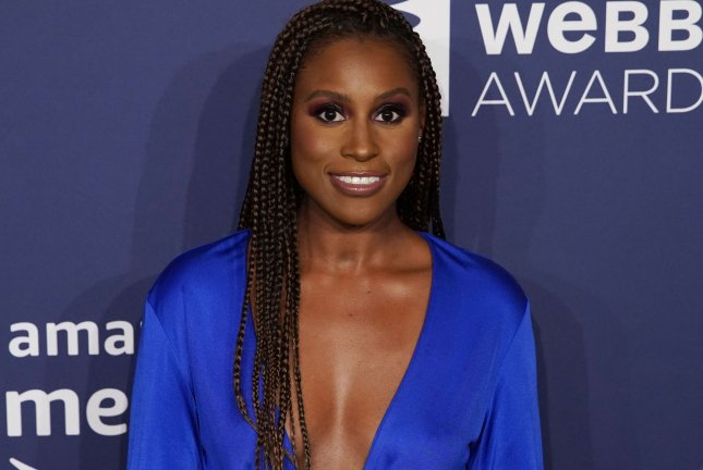 Issa Rae has signed up for a voice role in the Spider-Man: Into the Spider-Verse sequel. File Photo by John Angelillo/UPI