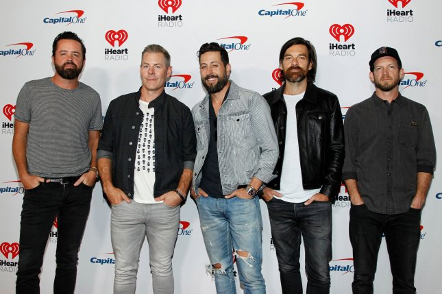 Country band Old Dominion arrives for the iHeartRadio Music Festival at the T-Mobile Arena in Las Vegas, Nevada on September 20, 2019. Photo by James Atoa/UPI
