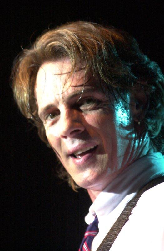 Singer Rick Springfield seen on this March 24 file photo. (UPI Photo/Bill Greenblatt)