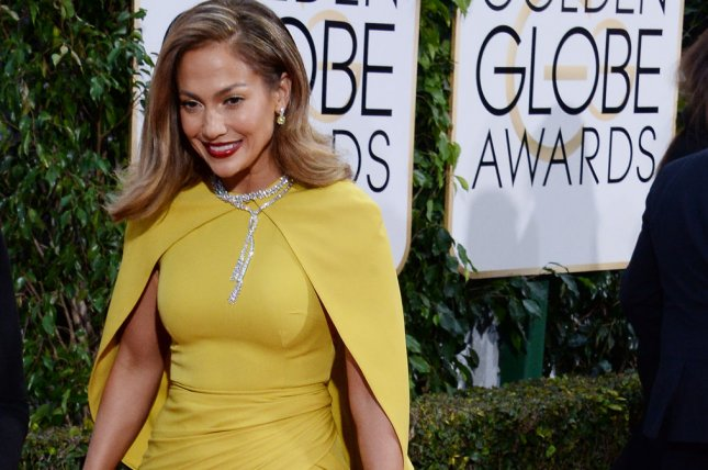Singer and actress Jennifer Lopez attends the 73rd annual Golden Globe Awards in Beverly Hills on January 10, 2016. File photo by Jim Ruymen/UPI