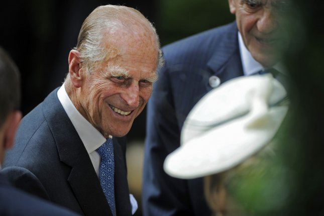 Prince Phillip, the Duke of Edinburgh, was discharged Friday from a London hospital following successful hip replacement surgery and an 11-day hospital stay. File Photo by Henny Ray Abrams/UPI