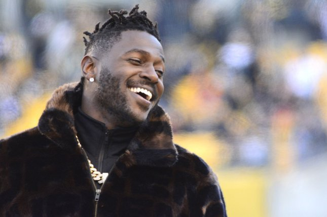 Antonio Brown made the Pro Bowl every year from 2013 through 2018, before being released by the Oakland Raiders and New England Patriots in 2019. File Photo by Archie Carpenter/UPI