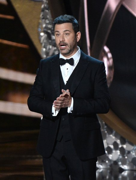 Jimmy Kimmel has confirmed this year's Emmy Awards ceremony will be a virtual event. File Photo by Jim Ruymen/UPI