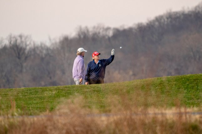 The PGA of America has announced it is canceling an agreement to hold its 2020 championship at a property owned by President Donald J. Trump, who is an avid golfer. Photo by Ken Cedeno/UPI