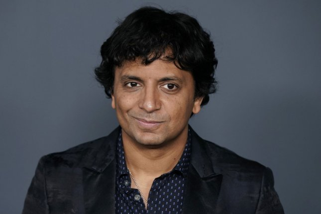 Old writer, director and producer M. Night Shyamalan arrives at the world premiere of Servant in November 2019. Old follows a family who is aging at an alarming rate. File Photo by John Angelillo/UPI
